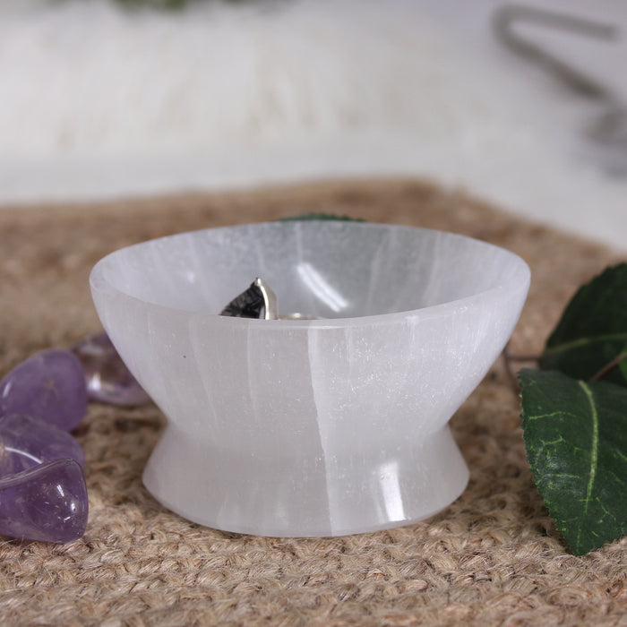 Selenite Charging Bowl - New Style