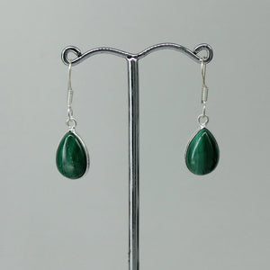 Malachite Tear Drop Cabochon
