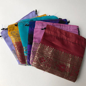 Silk Pouch - Medium Size