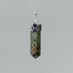 Labradorite - Cap-set Chakra Point
