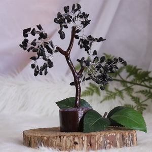 Black Onyx Tree - Medium Brown