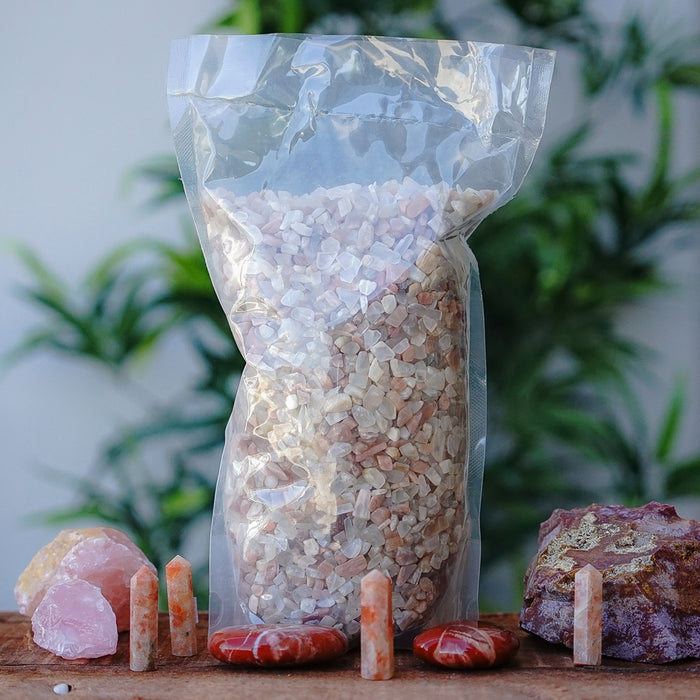 Peach Moonstone Chips 1KG
