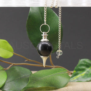 Black Onyx Ball Pendulum