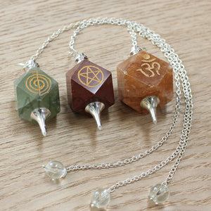 Symbol Hex Pendulum 3pc Pack PE08