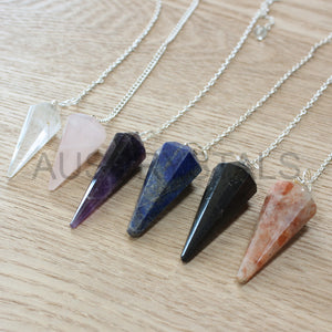 Faceted Pendulum 3pc Pack PE05