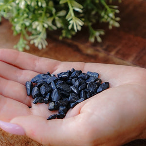 Black Tourmaline Chips 1KG