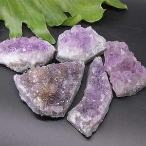 Amethyst Cluster Small 500gr pack