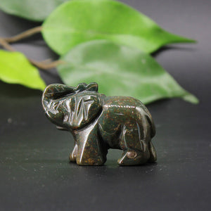 Medium Bloodstone Elephant