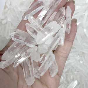 Clear Quartz Crystal Points