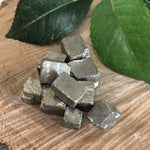 Pyrite Natural Cube Crystal 1pc