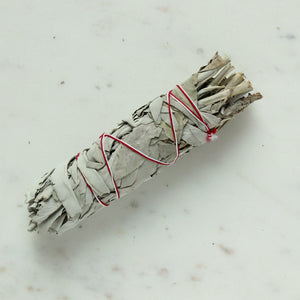 White Sage Smudge Stick - *NEW Medium
