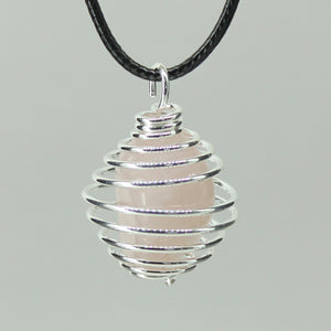 Spiral Cage - Silver Colour Hard