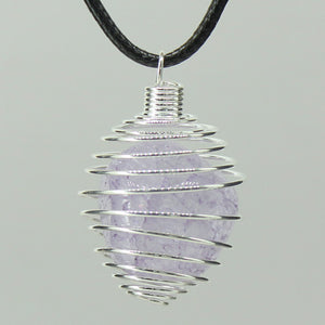 Spiral Cage - Silver Colour Soft 10pc