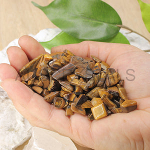Tigers Eye Chips 1KG