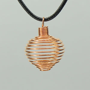 Spiral Cage - Copper Colour Soft 10pcs