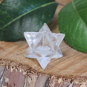 Clear Quartz Merkaba - Small 1pc