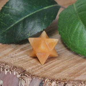 Yellow Aventurine Merkaba - Small 1pc