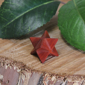 Red Jasper Merkaba - Small 1pc