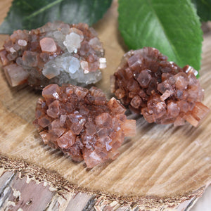Aragonite Natural Medium 3pc