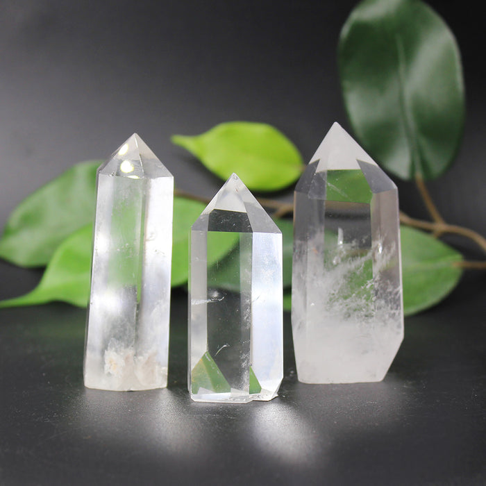 Clear Quartz Tower 1pc