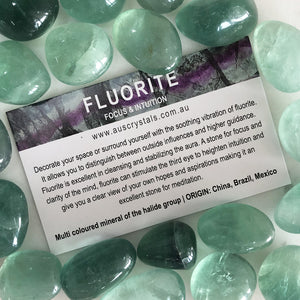 Fluorite Info Card 25pc pack