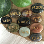 Affirmation Stone Assorted 10pc