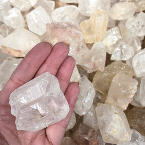 Clear Quartz Rough 5pc pack