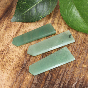 Green Aventurine (light green) Flat Point 1pc