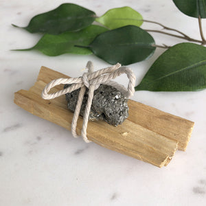 Palo Santo - Pyrite Bundle