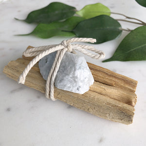 Palo Santo - Rainbow Moonstone Bundle