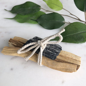 Palo Santo - Black Tourmaline Bundle
