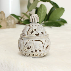 Soapstone Trinket Box