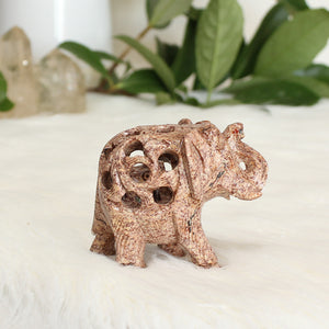 Soapstone Elephant - Small