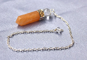 Yellow Aventurine Ball Point Pendulum