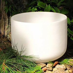 Quartz Singing Bowl - 8""