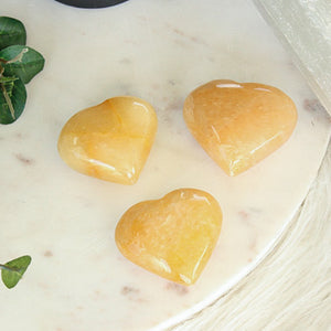 Yellow Aventurine Heart 1pc