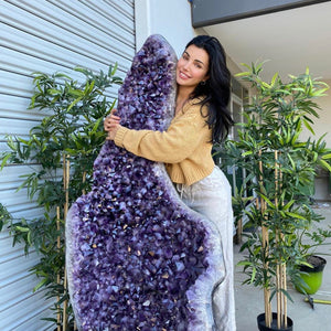 Amethyst Hugging Cave- PICK UP ONLY