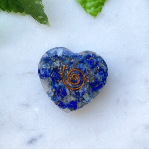 Orgonite Heart Small- Lapis