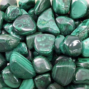 Malachite Tumbled 1kg