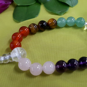 Chakra Power Bead Bracelet 8mm