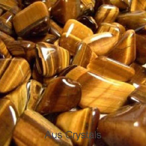 Tigers Eye Tumbled 1pc