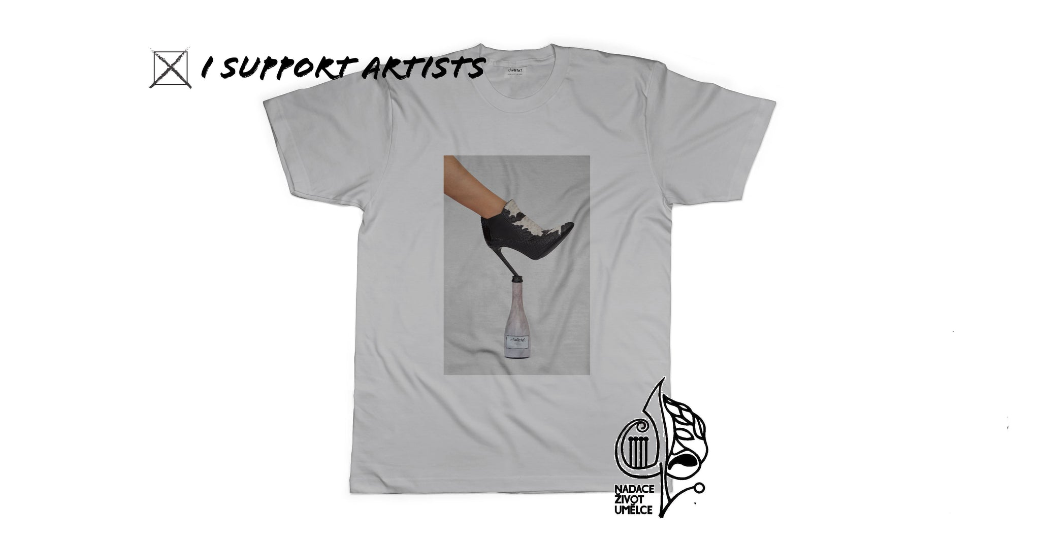 "Aurosa Concept 3.0 for the foundation ""LIFE OF ARTIST"" tee - Aurosa premium lifestyle beer"