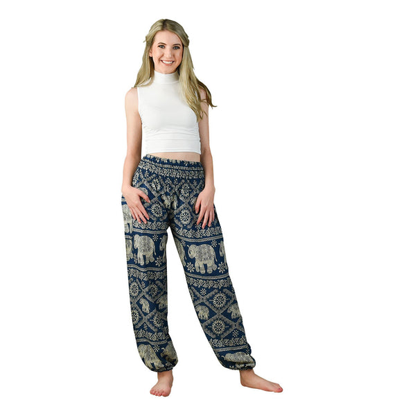 Sherri Peacock Harem Pants on Model