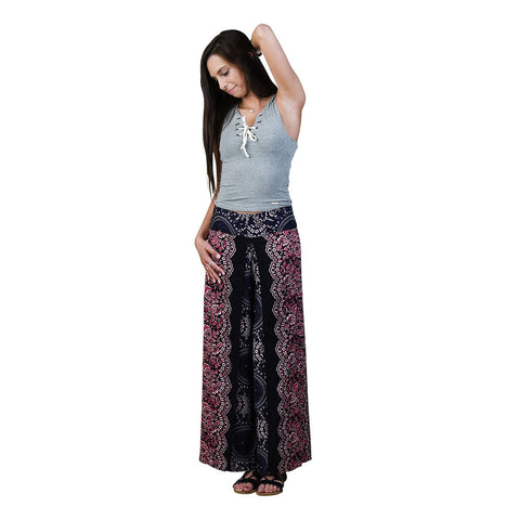 Trisha Cherry Harem Pants on Model