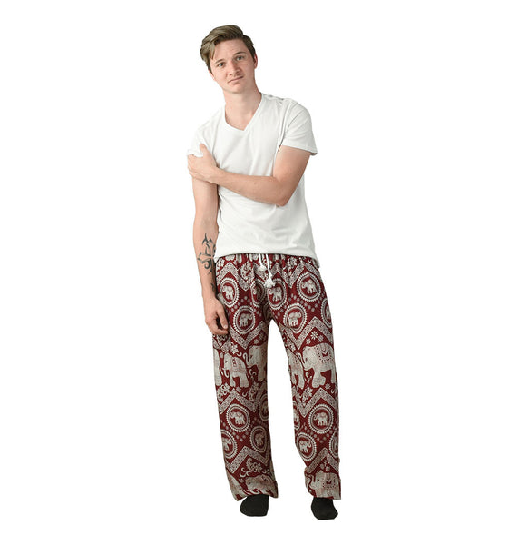 Tommy Cherry Unisex Pants Pants on Model