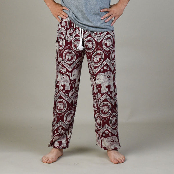Tommy Cherry Unisex Pants Pants Front View
