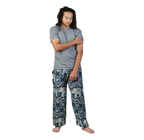 Tommy Peacock Unisex Pants Pants on Model