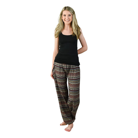 Jewel Harem Pants on Model