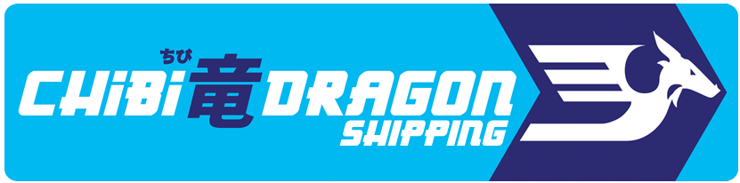 Chibi Dragon Shipping Packaging Tape Logo