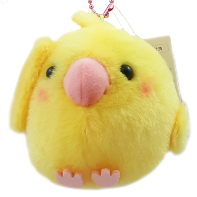 AMUSE Kotori Tai Cockatiel Plush with Ball Chain